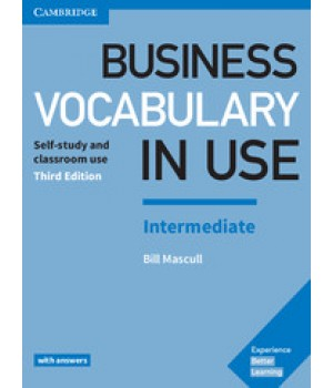 Учебник Business Vocabulary in Use: Intermediate Book with Answers 3rd Edition