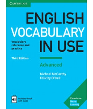 Підручник English Vocabulary in Use (Third Edition): Advanced Edition with answers and eBook