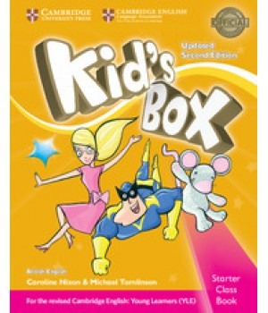 Учебник Kid's Box Updated Second edition Starter Pupil's Book