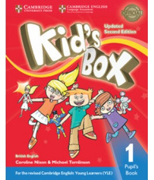 Учебник Kid's Box Updated Second edition 1 Pupil's Book
