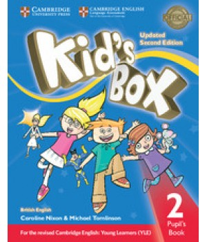 Учебник Kid's Box Updated Second edition 2 Pupil's Book