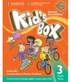Учебник Kid's Box Updated Second edition 3 Pupil's Book