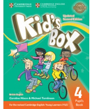 Учебник Kid's Box Updated Second edition 4 Pupil's Book