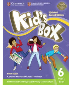 Учебник Kid's Box Updated Second edition 6 Pupil's Book