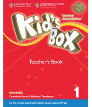 Книга для вчителя Kid's Box Updated Second Edition 1 Teacher's Book