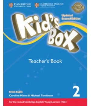 Книга для учителя Kid's Box Updated Second Edition 2 Teacher's Book