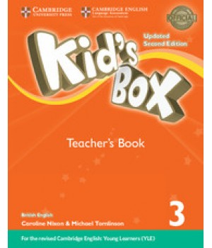 Книга для учителя Kid's Box Updated Second Edition 3 Teacher's Book