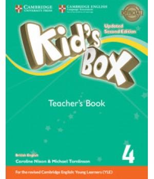Книга для вчителя Kid's Box Updated Second Edition 4 Teacher's Book