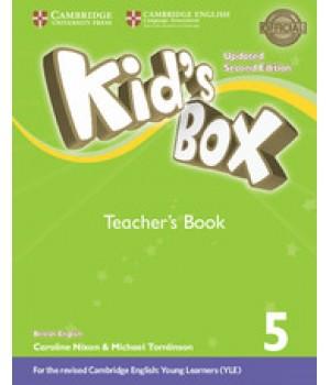 Книга для вчителя Kid's Box Updated Second edition 5 Teacher's Book