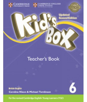 Книга для вчителя Kid's Box Updated Second edition 6 Teacher's Book