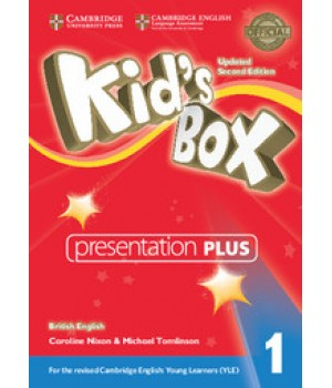 Диск Kid's Box Updated Second Edition 1 Presentation Plus DVD-ROM