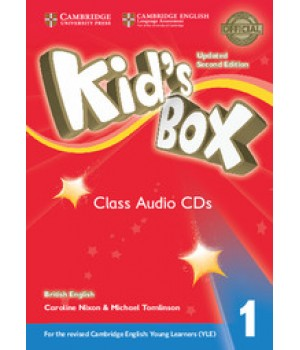 Диски Kid's Box Updated Second edition 1 Class Audio CDs (4)