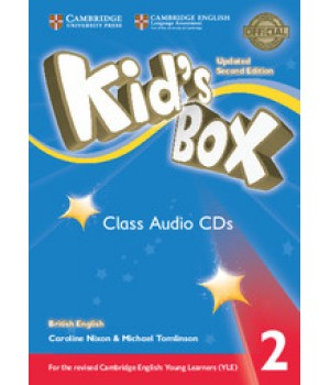 Диски Kid's Box Updated Second edition 2 Class Audio CDs (4)