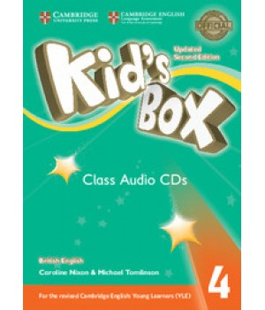 Диски Kid's Box Updated Second edition 4 Class Audio CDs (3)