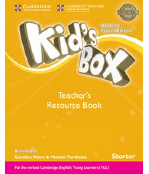 Книга для вчителя Kid's Box Updated Second edition Starter Teacher's Book