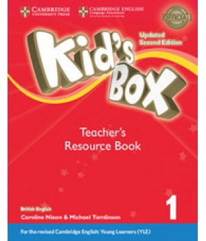 Книга для вчителя Kid's Box Updated Second edition 1 Teacher's Resource Book with Online Audio