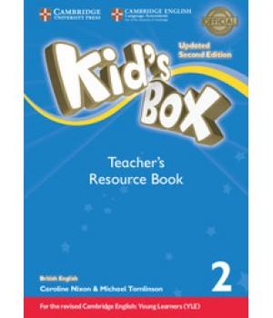 Книга для учителя Kid's Box Updated Second edition 2 Teacher's Resource Book with Online Audio