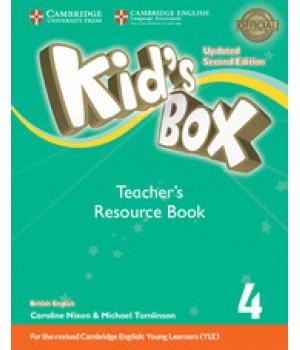 Книга для вчителя Kid's Box Updated Second edition 4 Teacher's Resource Book with Online Audio