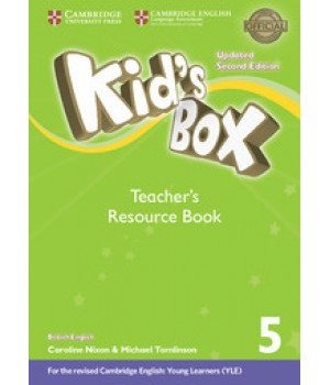 Книга для вчителя Kid's Box Updated Second edition 5 Teacher's Resource Book with Online Audio