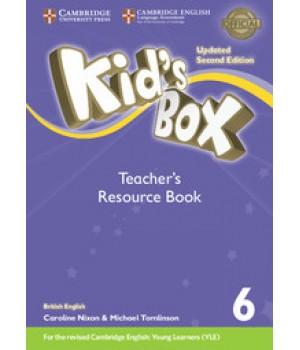 Книга для вчителя Kid's Box Updated Second edition 6 Teacher's Resource Book with Online Audio