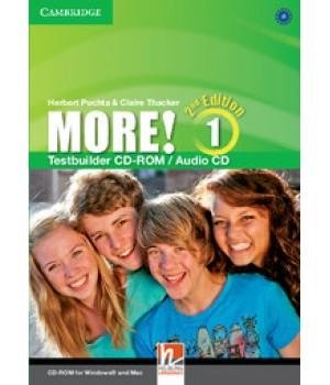 Диск More! (2nd edition) 1 Testbuilder CD-ROM/Audio CD