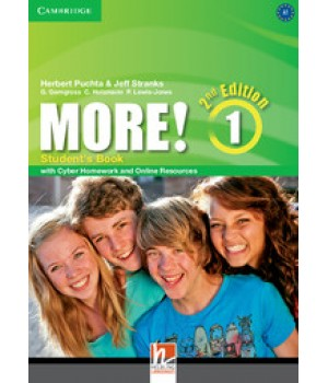Підручник More! (2nd edition) 1 Student's Book with Cyber Homework and Online Resources