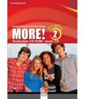 Диск More! (2nd edition) 2 Testbuilder CD-ROM/Audio CD