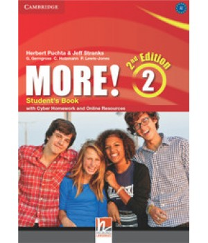 Підручник More! (2nd edition) 2 Student's Book with Cyber Homework and Online Resources