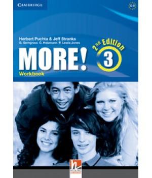 Рабочая тетрадь More! (2nd edition) 3 Workbook