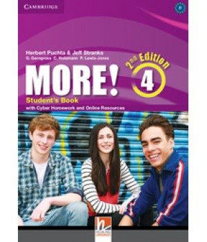 Підручник More! (2nd edition) 4 Student's Book with Cyber Homework and Online Resources