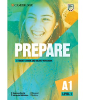 Підручник Cambridge English Prepare! 2nd Edition 1 Student's Book with Online Workbook