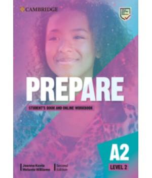 Підручник Cambridge English Prepare! 2nd Edition 2 Student's Book with Online Workbook