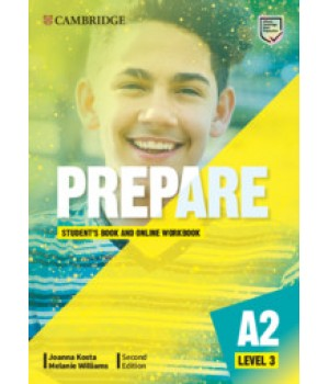 Підручник Cambridge English Prepare! 2nd Edition 3 Student's Book with Online Workbook