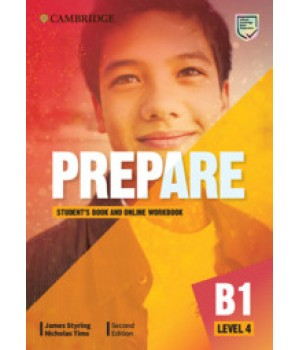 Підручник Cambridge English Prepare! 2nd Edition 4 Student's Book with Online Workbook