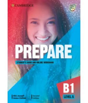 Підручник Cambridge English Prepare! 2nd Edition 5 Student's Book with Online Workbook