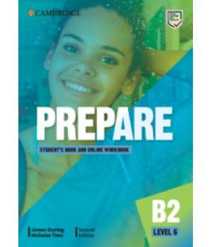 Підручник Cambridge English Prepare! 2nd Edition 6 Student's Book with Online Workbook