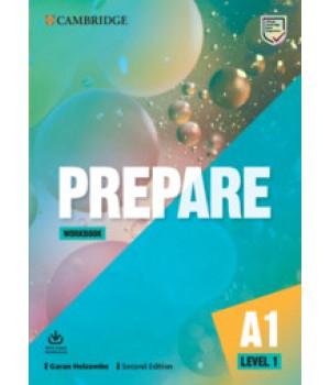 Робочий зошит Cambridge English Prepare! 2nd Edition 1 Workbook