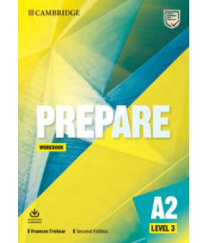Робочий зошит Cambridge English Prepare! 2nd Edition 3 Workbook
