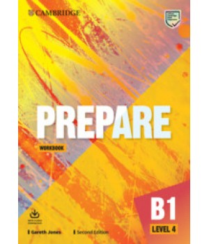 Робочий зошит Cambridge English Prepare! 2nd Edition 4 Workbook