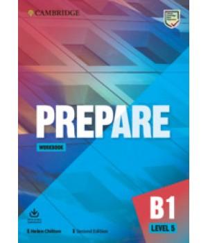 Робочий зошит Cambridge English Prepare! 2nd Edition 5 Workbook