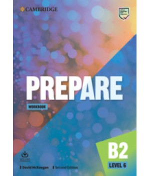 Робочий зошит Cambridge English Prepare! 2nd Edition 6 Workbook