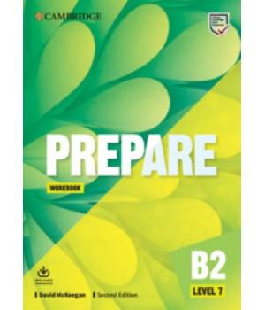 Робочий зошит Cambridge English Prepare! 2nd Edition 7 Workbook