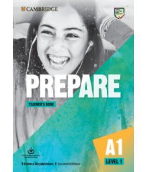 Книга для вчителя Cambridge English Prepare! 2nd Edition 1 Teacher's Book