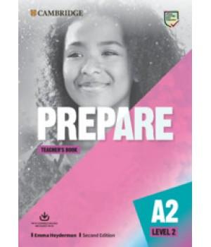 Книга для вчителя Cambridge English Prepare! 2nd Edition 2 Teacher's Book