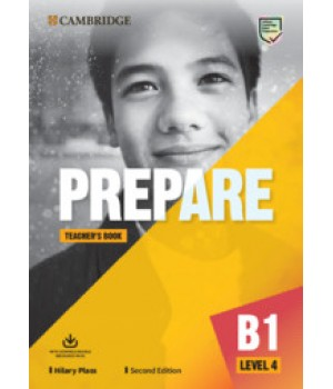 Книга для вчителя Cambridge English Prepare! 2nd Edition 4 Teacher's Book