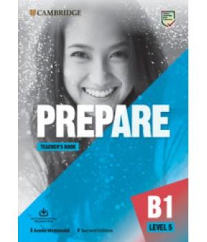 Книга для вчителя Cambridge English Prepare! 2nd Edition 5 Teacher's Book