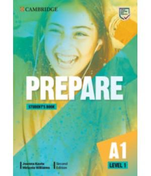 Підручник Cambridge English Prepare! 2nd Edition 1 Student's Book