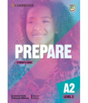 Підручник Cambridge English Prepare! 2nd Edition 2 Student's Book