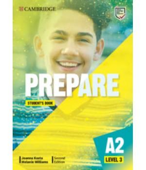 Підручник Cambridge English Prepare! 2nd Edition 3 Student's Book