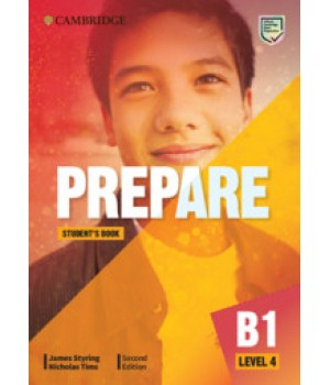 Підручник Cambridge English Prepare! 2nd Edition 4 Student's Book